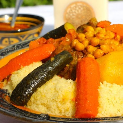 Traditional Moroccan Couscous Kosher Cowboy Moroccan Recipes