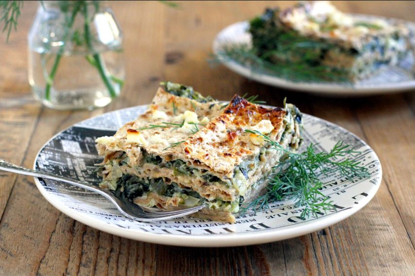Spinach And Ricotta Matzah Lasagna Kosher Recipe